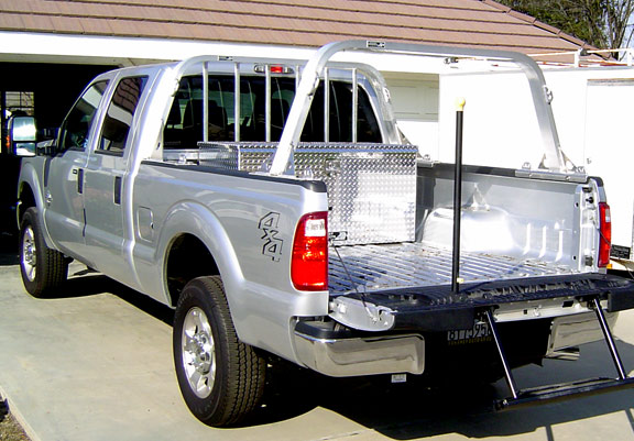 Pickup Truck Rack Built By Highway Products Take A Look