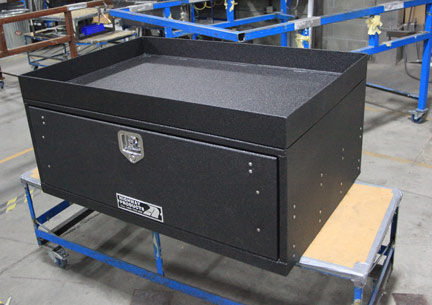 Secure Tool Bo For Law Enforcement Built By Highway Products See Them At 800toolbox